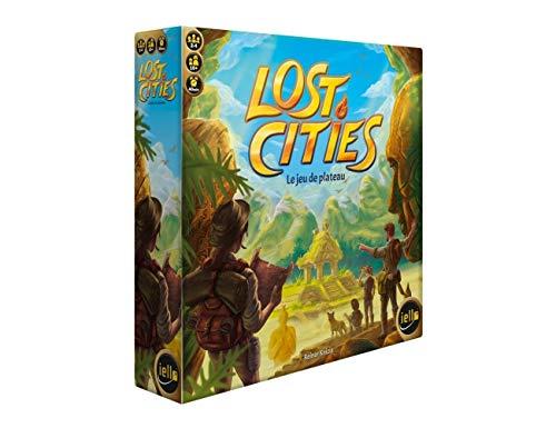 IELLO Lost Cities - Juego de mesa