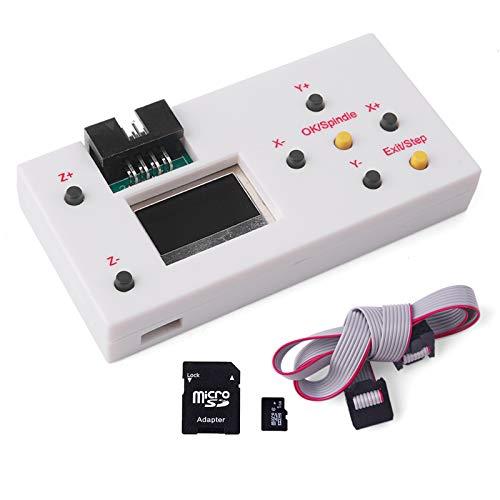 Contrôleur hors ligne CNC, module de commande hors ligne routeur Yofuly GRBL Hors ligne de travail écran à distance LCD LCD pour routeur de bois de gravure laser CNC