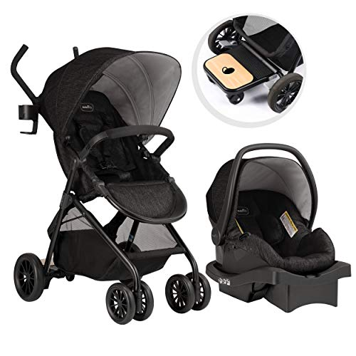 Evenflo Sibby Travel System, Stroller, Car Seat, Ride-Along...