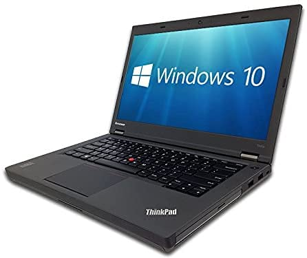 Windows 10 Lenovo T440P i7-4600M Laptop PC - 8GB DDR3 - 480GB SSD -14' Screen - Webcam(Renewed)