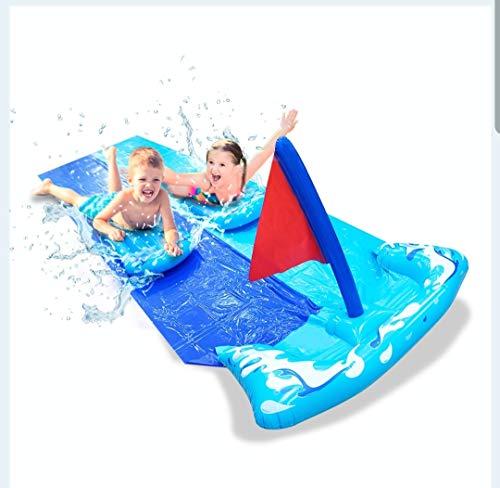 Slides Splash Down Aufblasbares Wasser