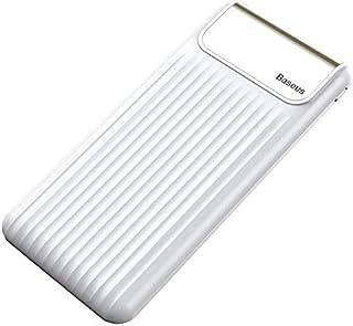 Baseus Thin Digital Power Bank 10000 mAh Quick Charge 5V/9V/12V - White