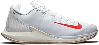 Nike Mens Air Zoom Zero Tennis Shoes (11 D US, White/Bright Crimson/Phantom/Black)
