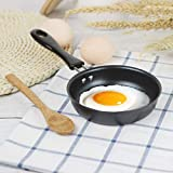 Valuu Nonstick Frying Pan Small Egg Pancake Round Mini Non Stick...