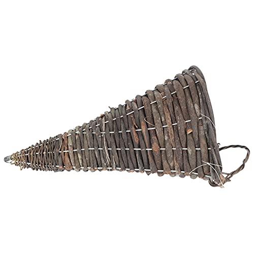YARNOW Maceta Colgante de Ratán Maceta Tejida Maceta Colgante para Pared Maceta Colgante para Pared Maceta Retro para Plantas de Aire Suculentas Cactus Pequeños
