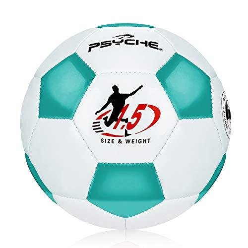 Fußball Kinder Fussball Klein Toy Balls Indoor Bälle Outdoor Trainingsbälle,Fußball,Blau Weiss,Größe 1.5