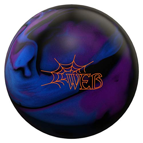 Hammer 029744028095 Web Bowling Ball, Blue/Purple/Black, 16