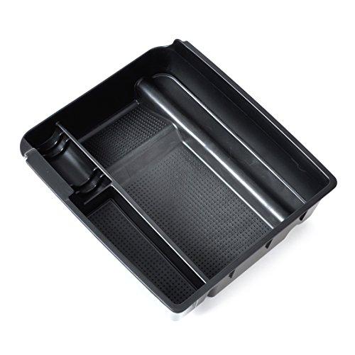 Negro interior Control Apoyabrazos almacenamiento secundario guantera organizado contenedor