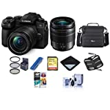 Panasonic Lumix DC-G95 Mirrorless Camera with 12-60mm f/3.5-5.6 Lumix G Power OIS Lens, Black - Bundle With Camera Case, 32GB SDHC U3 Card, 58mm Filter Kit, Cleaning Kit, PC Software Package, And More