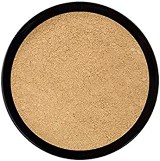 Emani Vegan Cosmetics Perfecting Mineral Crushed Powder Face Foundation - Full Coverage, HD Finish, Pore Minimizing, Silicon Free, 100% Organic, Vegan, Gluten and Cruelty Free, Buildable Coverage