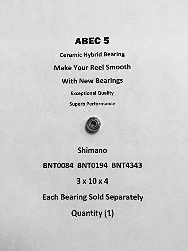 SHIMANO Cardiff 201 BNT0084 BNT0194 BNT4343 ABEC5 Ceramic Bearing 3x10x4#02