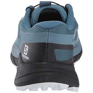 Salomon Women's Sense Ride 2 Trail Running Shoes, Mallard Blue/Blue Stone/Black, 7