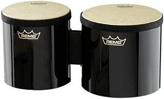 Remo Pre-Tuned Bongo Set - (Black)