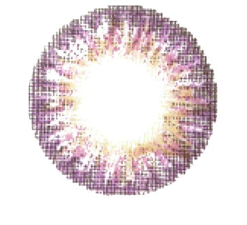 Matlens - Pro Trend Farbige Kontaktlinsen mit Stärke natürlich World TriColor PD-315 grau gray2 Linsen 1 Kontaktlinsenbehälter 1 Pflegemittel 50ml