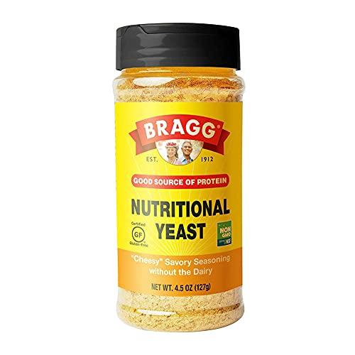 Bragg Premium Nutritional Yeast Seasoning 4.5 Ounce (Packaging May Vary)