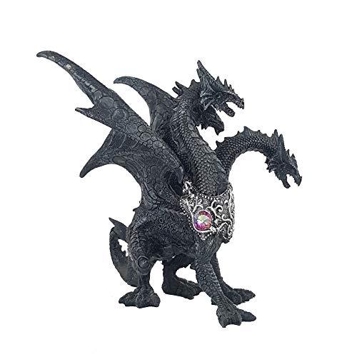 IM Drachen Hydra Figur Dragon Sammlerfigur Gothic Halloween Fantasy Drache Drachenfigur