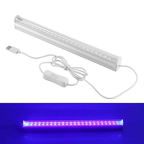 Lámpara LED UV, mini varita de luz púrpura portátil, varita de luz UV de mano, sin productos químicos para casa, oficina, viajes, para hotel, hogar, armario, inodoro, coche, área de mascotas