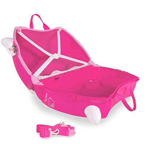 Trunki Trolley Kinderkoffer, Handgepäck für Kinder: Hello Kitty (Rosa) - 5
