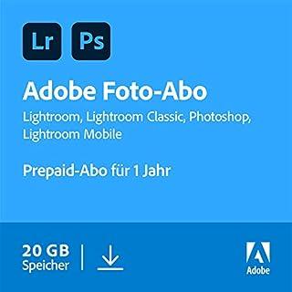 Photoshop & Lightroom CC: Lizenz für 1 Jahr PC/Mac/Mobile