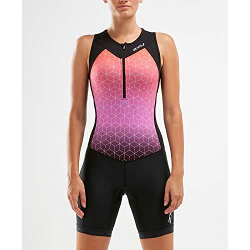 2XU Damen Active Trisuit-WT5546D 1 Trisuit XL Schwarz/Sunset Ombre