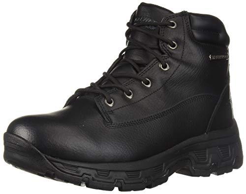 Skechers Men's Morson-SINATRO Hiking Boot, Black, 8.5 Medium US