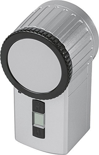 Homematic 131762 Funk-Türschlossantrieb KeyMatic-Set, Silber
