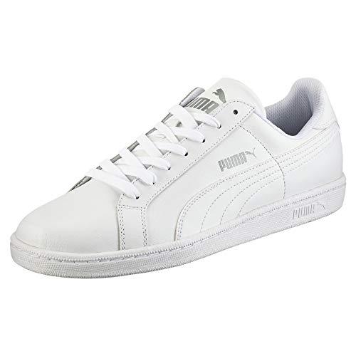 Puma Smash - Sneakers Basses - Mixte Adulte - Blanc (White) - 39 EU (6 UK)