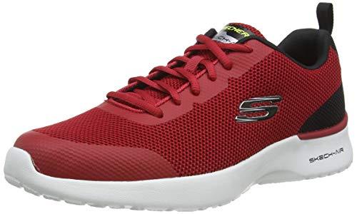 Skechers Herren Skech-air Dynamight Sneaker, Blau (Redl Knit/Synthetic/Black Trim Rd Bk), 43 EU