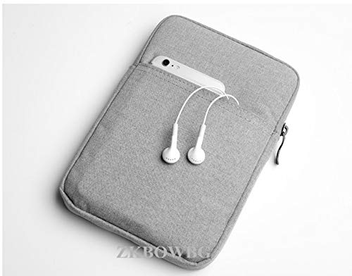 QiuKui Tab Funda para Huawei MediaPad M6 M5 Lite M3 M2 10.1 Pro, Tablet Universal Bolsas Bolsa de la Manga de la Cremallera de Casos para Huawei MediaPad M6 M5 Lite M3 M2 Pro 10.1 10.8 T5 T3 T1 T2 10