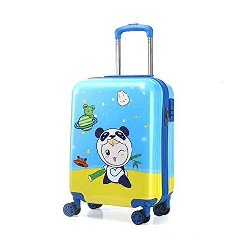 Koffer XYDBB Koffer Reistas met wielen voor jongenswagen Handbagage Koffer 19