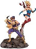 DC Collectibles Bombshells: Batgirl & Supergirl Celebration Statue, Multicolor