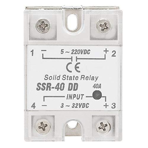 SSR-40 DD 40A 5-220VDC Halbleiterrelais für industrielle Automatisierungsprozesse 3-32VDC 6-12mA