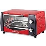 Brayden Krispo 9 Litre Electric Oven Toaster Griller with Evov Bake Technology, Peach Red