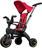 Liki Trike S1 - red tricycle 5 in 1