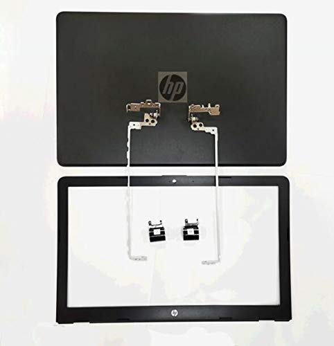 Replace for HP 15-BS038CA 15-BS0510D 15-BS053OD 15-BS113DX 15-BS115DX 15-bs212wm 15-bs289wm Laptop LCD Back Cover Rear Lid Top Case & Front Bezel Trim & Hinges & Cover Sets