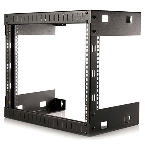 StarTech.com 8U 19' Wall Mount Network Rack - 12' Deep 2 Post Open...
