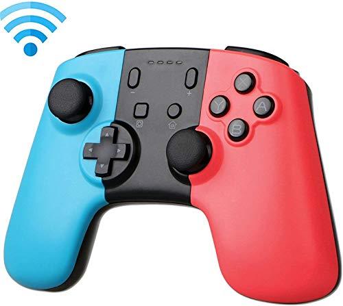 Wireless Remote Controller Pro, Gamepad voor Nintendo Switch Console (rood + blauw) Ondersteunt Versie bijwerken