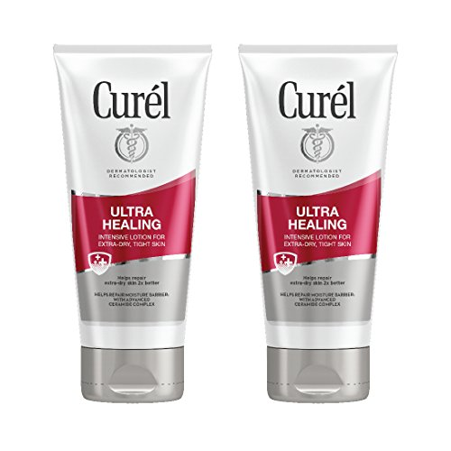 Curél Ultra Healing Intensive Lotion for ExtraDry Tight Skin 6 Ounces Pack of 2