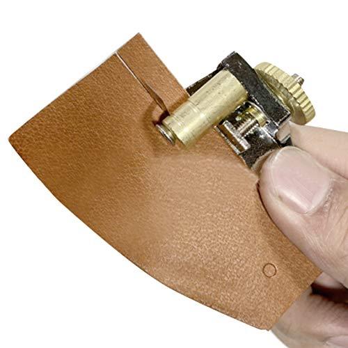 Herramienta cortadora de cinturón, cortador de tiras y correas de cuero, accesorios de corte manual para artesanía en cuero
