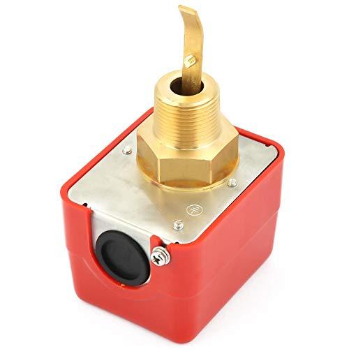 Wasserströmungswächter, HFS-20 dn20 6-380V Wasserströmungswächter aus Edelstahl für Wasser, Ethylen, Ethylenglykol und Andere Flüssigkeiten
