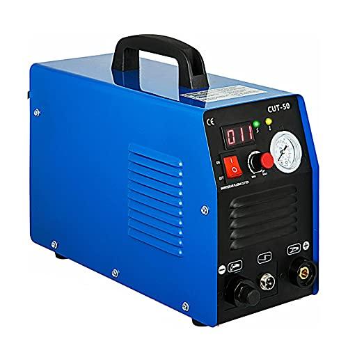 Wgwioo Cortadora De Plasma, Máquina Cortadora De Soldadura por Plasma Digital con Inversor De Alta Frecuencia, Máquina De Soldadura Digital con Inversor IGBT