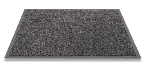 HMT Paillasson Gris Anthracite Rectangulaire 120 x 90 cm