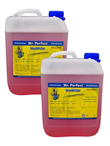 Mr. Perfect® Insektstar, 2 x 5L - Insektenentferner für KFZ, Insektenreiniger für alle Lacke