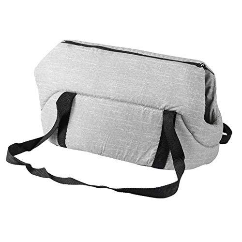 SODIAL Weiche Warme Baumwolle Hund Katze Umh?Ngetasche Tragbare Haustier Handtasche Komfortable Reise Hund Tragetasche