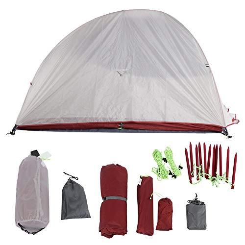 ROMACK Tienda de campaña para mochileros, Espacio Grande, Buena ventilación, Refugio Solar portátil a Prueba de Viento para 2-3 Personas para Actividades al Aire Libre
