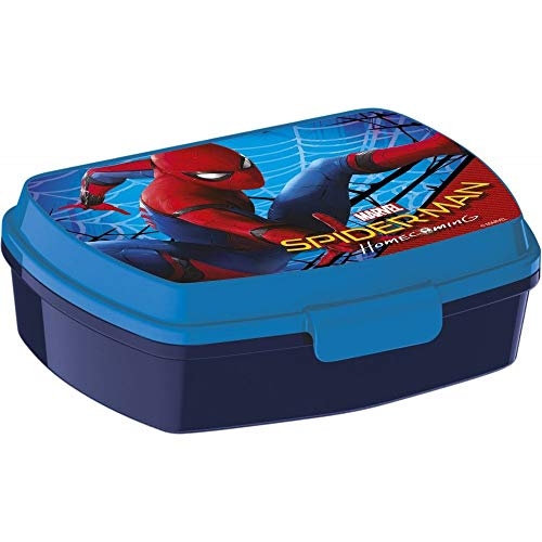 Javoli Spiderman Homecoming Brotdose Lunchbox Lightning Marvel