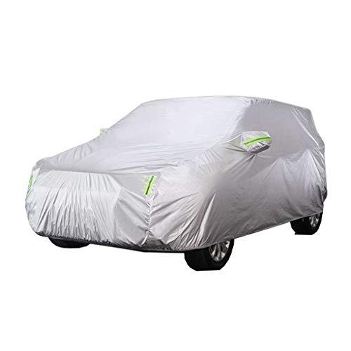 Cubiertas de coche completo  Totalmente impermeable transpirable  Protección interior contra todo clima al aire libre  Cubierta de nieve para ACURA MDX SUV coche  Plata, Mediana (Size : 2016)