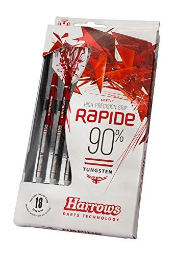 Fléchettes pointe souple - Harrows Rapide 16g - 90% Tungstène