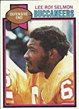 1979 Topps Regular (Football) card#123 Lee Roy Selmon of the Tampa Bay Buccaneers Grade very good/excellent