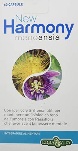 Erba Vita Integratore Alimentare New Harmony Meno Ansia - 60 Capsule